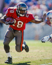 Warrick dunn tampa bay buccaneers Royalty-vrije Stock Foto