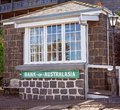 Bank Of Australasia at Flagstaff Hill Maritime Museum Australia Royalty Free Stock Photo