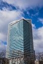 Warsaw Financial Center Royalty Free Stock Photography
