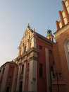 Warsaw poland church of the gracious mother of god in Stock Photo