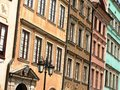 Warsaw, Poland old town Royalty Free Stock Photos