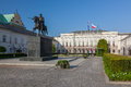 Warsaw - Presidential Palace Royalty Free Stock Photo