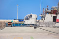 Warship in a harbor of rhodes greece on july Royalty Free Stock Photos