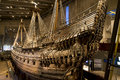 Warship Vasa, Stockholm Royalty Free Stock Photo