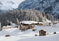 Warth, Austria Royalty Free Stock Photo