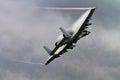 Military A10 Warthog Thunderbolt Jet Aircraft Royalty Free Stock Photo