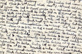 Wartime diary handwriting Royalty Free Stock Photos