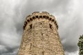 Warwick castle turret built william the conquerer Royalty Free Stock Images