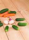 Warzywa żyje Obrazy Stock