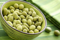 Wasabi peas Royalty Free Stock Photo