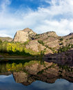 Wasatch Reflection Royalty Free Stock Photo