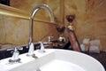 Wash basin Royalty Free Stock Photo