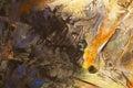 Wash Painting Yellow Background