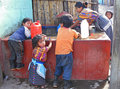 Washday in Guatemala Royalty Free Stock Photos