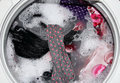 Washing clothes Royalty Free Stock Photo
