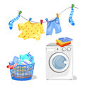 Washing clothes, washing machine