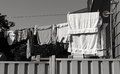 Washing day Royalty Free Stock Photo