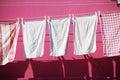 Washing Line In Burano