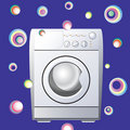 Washing machine. Stock Image