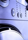 Washing machine control pannel Royalty Free Stock Photo