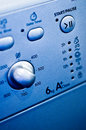 Washing machine controls Stock Images