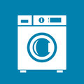 Washing machine icon Royalty Free Stock Photo