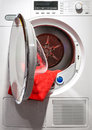 Washing Machine With Open Door Royalty Free Stock Photo