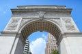 Washington Arch, New York Royalty Free Stock Photo