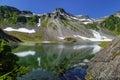 Washington Cascades Royalty Free Stock Photo