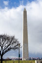 Washington monument dc the is an obelisk built as a memorial to george Royalty Free Stock Image