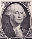 Washington s portrait dollar bill Royalty Free Stock Photography