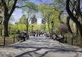 Washington Square Park, New York Royalty Free Stock Photo