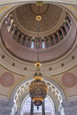 Washington State Capitol Building Chandelier Closeup Royalty Free Stock Photo