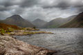 Wast water in english lake district Stock Photo