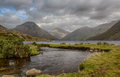 Wast water in english lake district Royalty Free Stock Photo