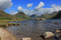Wast water lake district uk england nature of the the journey to mountain mountain landscape nature Royalty Free Stock Photo