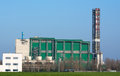Waste incinerator factory energy industry Royalty Free Stock Photo