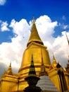 Wat Таиланда phra дворца kaeo 2 bangkok фантастичное грандиозное Стоковая Фотография RF