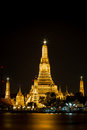 Wat arun in bangkok landmark of thailand Royalty Free Stock Image