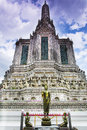 Wat arun bangkok thailand the temple of in Royalty Free Stock Images