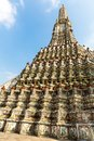 Wat arun in bangkok thailand view from bottom Stock Photos