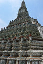 Wat arun is a buddhist temple in the bangkok yai district of bangkok thailand on the thonburi west bank of the chao phraya Stock Photo