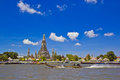 Wat Arun and cloudscape Stock Photos