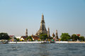 Wat arun ratchawararam ratchawaramahawihan or is a buddhist temple in bangkok yai district of bangkok thailand on the Stock Images