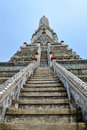 Wat arun ratchawararam ratchawaramahawihan or is a buddhist temple in bangkok yai district of bangkok thailand on the Royalty Free Stock Image
