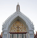 Wat arun ratchawararam ratchawaramahawihan or or temple of the dawn is a buddhist temple in bangkok yai district of Stock Photos