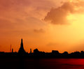 Wat Arun Temple in bangkok thailand Stock Photography