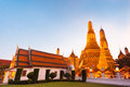 Wat arun temple in bangkok thailand south east asia Stock Photography
