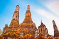 Wat arun temple in bangkok thailand south east asia Royalty Free Stock Photography