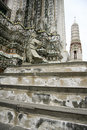 Wat arun temple of the dawn bangkok thailand Royalty Free Stock Image